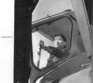 una giovane conducent di gru0001