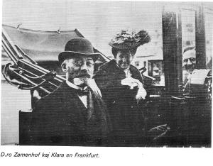 1906 Z. kun la edzino