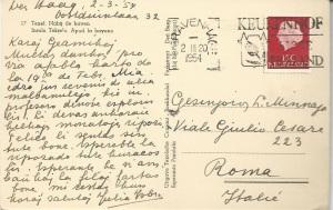 1954 Isbrucker scrittura seconda